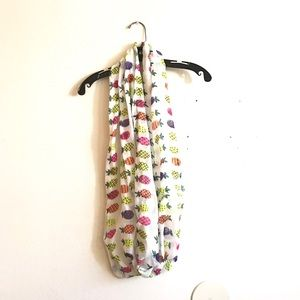 Accessories - 🎉TAKE 50% OFF!🎉 Pineapple Print Infinity Scarf